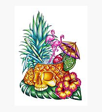 210x230 Hawaiian Drawing Photographic Prints Redbubble