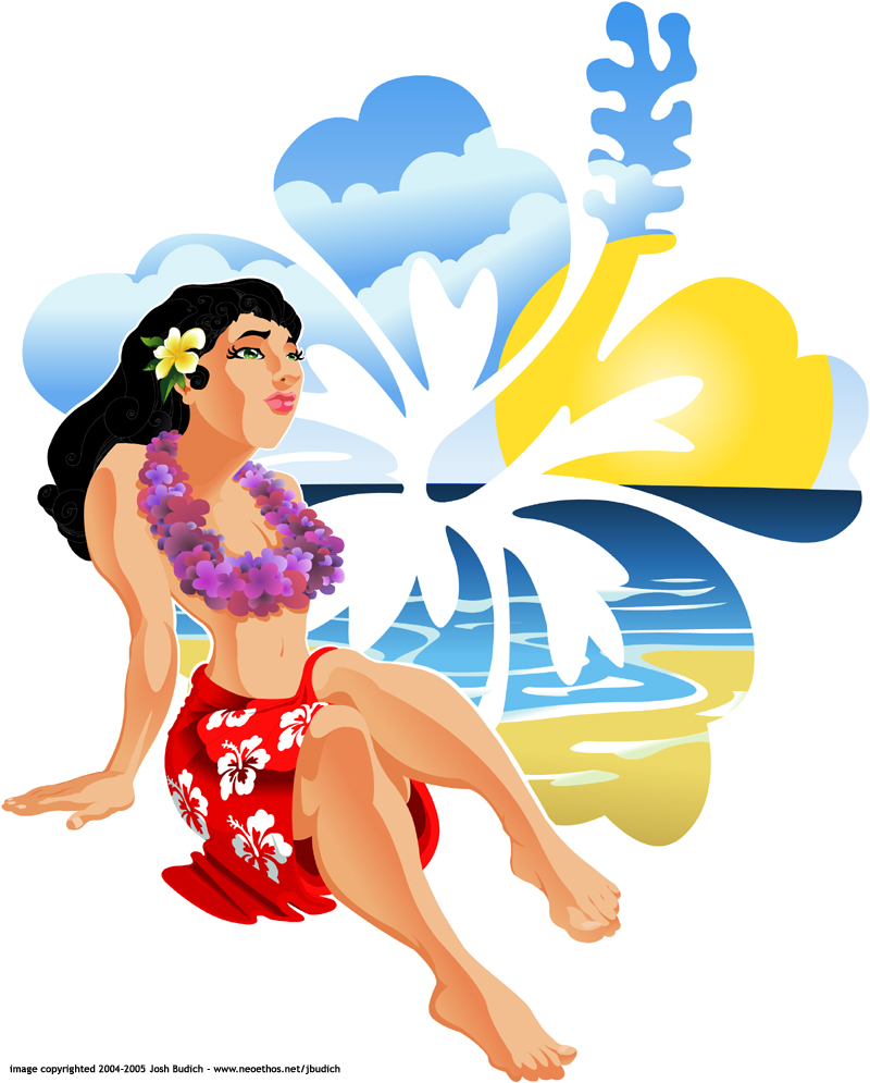 800x995 Hawaiian Girl By Jbudich