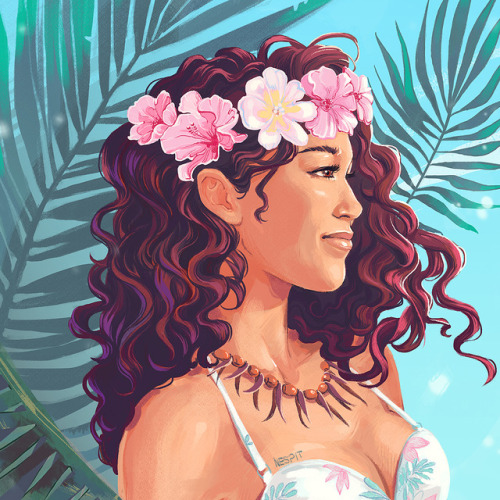 500x500 Hawaiian Illustration Tumblr