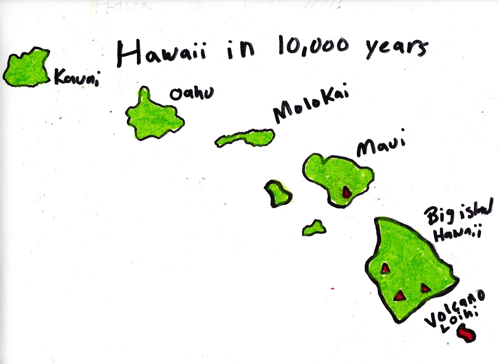 1600x1166 The Great State Of Hawaii