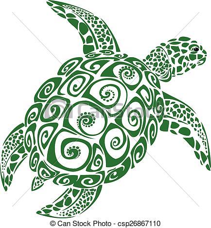 Hawaiian Sea Turtle Clip Art Hawaiian Sea Turtle Dr...