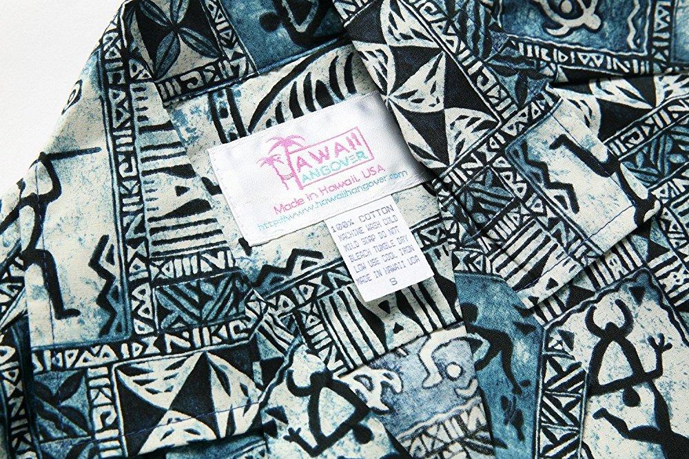 1000x667 Made In Hawaii Men's Hawaiian Shirt Aloha Shirt In Blue Classic