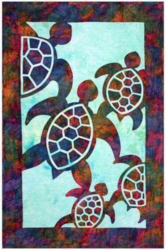 332x500 Hawaiian Sea Turtle Quilt Patterns Turtle Quilt Pattern Ebay