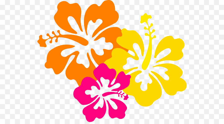 900x500 Hawaiian Flower Clip Art