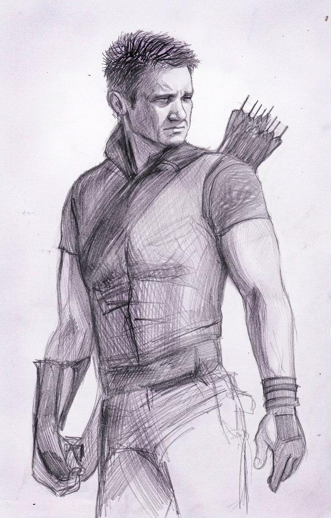 654x1024 Clint Barton, Hawkeye By Dafnawinchester