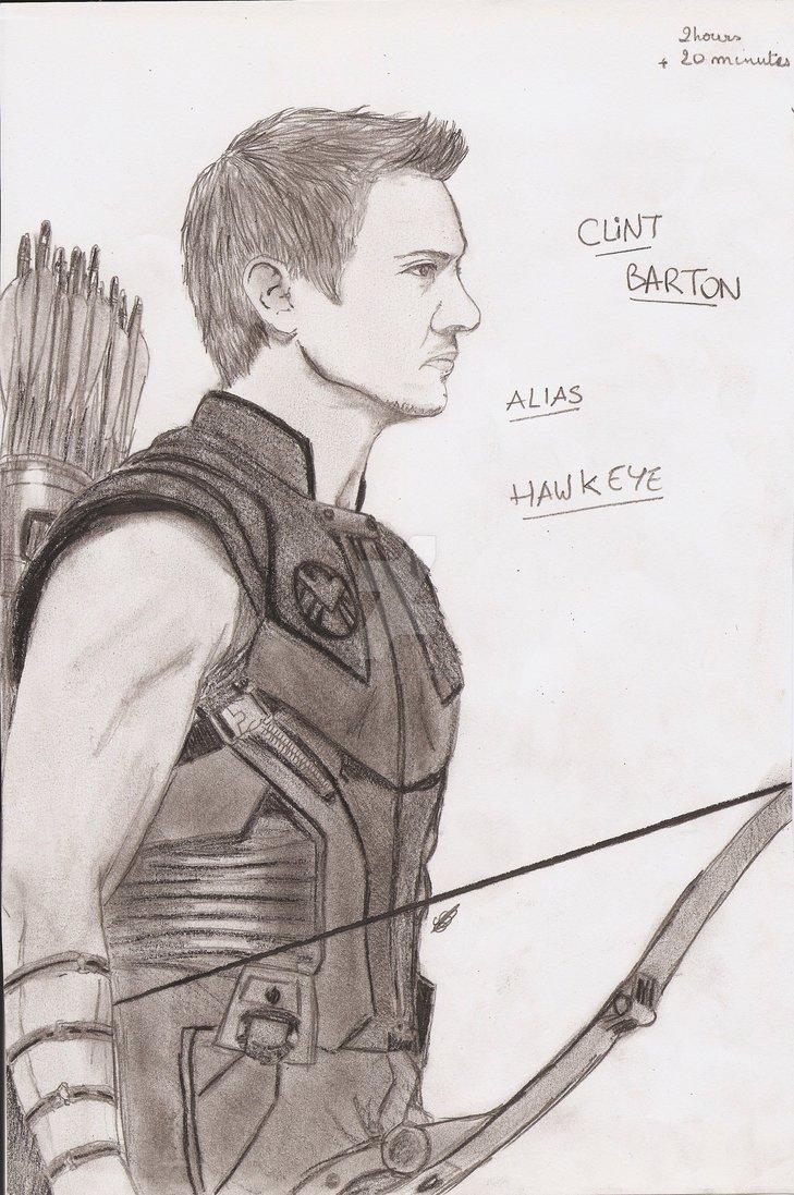 729x1097 Clint Barton Alias Hawkeye By Grimmynette