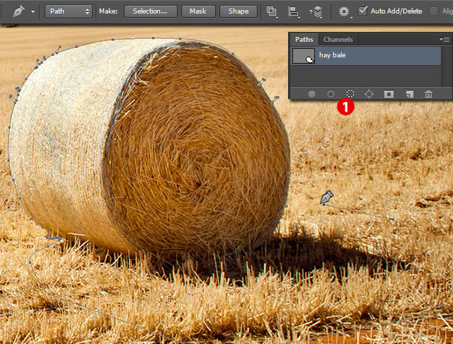 640x486 To Create Stylized Hay Bale Typography In Adobe Photoshop