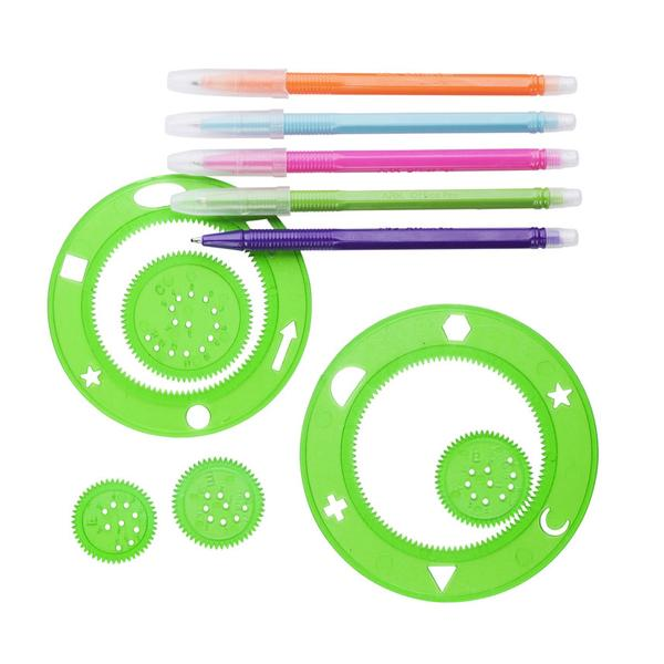 600x600 Hay Spirograph Drawing Set By Selected By Hay