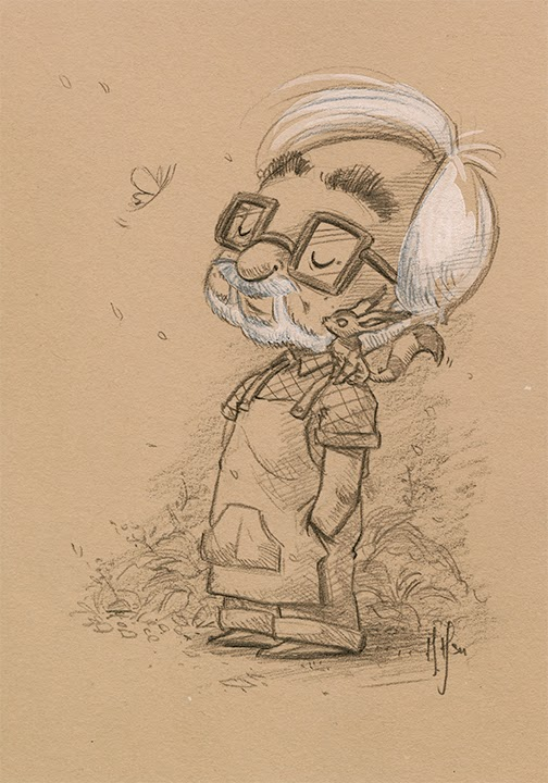 504x720 Morning Strolls Sketches Of Hayao Miyazaki Studio Ghibli News