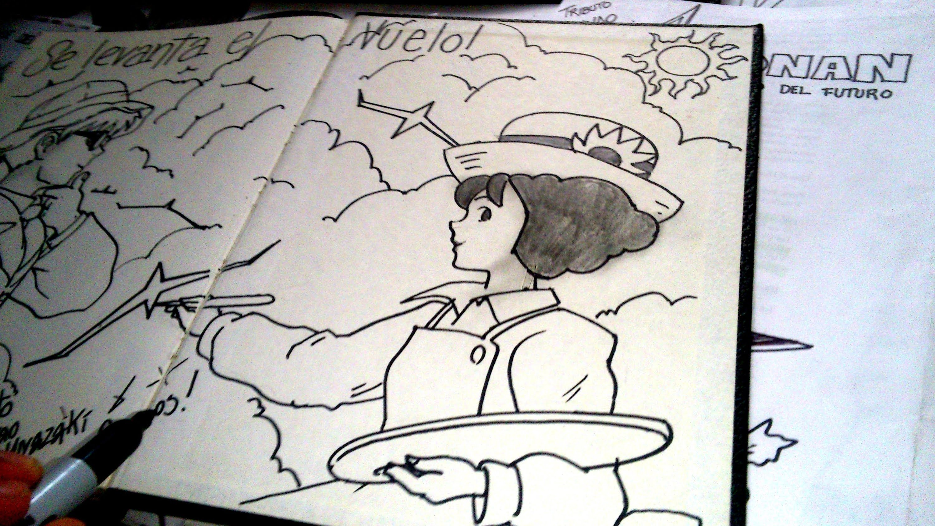 3000x1688 The Wind Rises Draw Dibuja A La Chica De The Wind Rises De Hayao