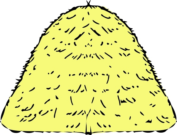 594x454 Haystack Clip Art Free Vector In Open Office Drawing Svg ( Svg