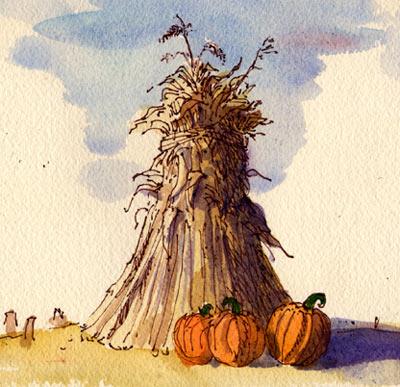 400x387 Haystack Illustration By Dan Daly