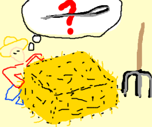 300x250 Needle In A Haystack. (Drawing By Psycko Bacon)