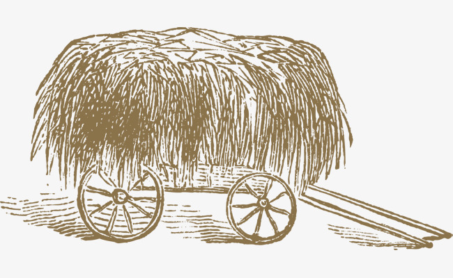 650x400 The Haystack On The Cart, Haystack, Farm, Golden Png And Vector