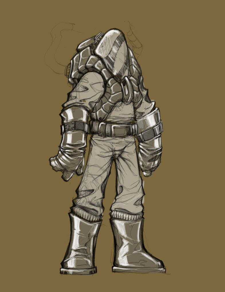 786x1017 Hazmat Suit Concept By Chippy82