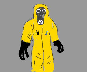 300x250 Hazmat Suits Now Include Rad Sunglasses.