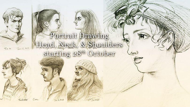 810x455 Portrait Drawing Head, Neck, Amp Shoulders Limerick.ie