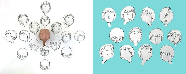 787x313 Image Result For Drawing Head Angles Character Design