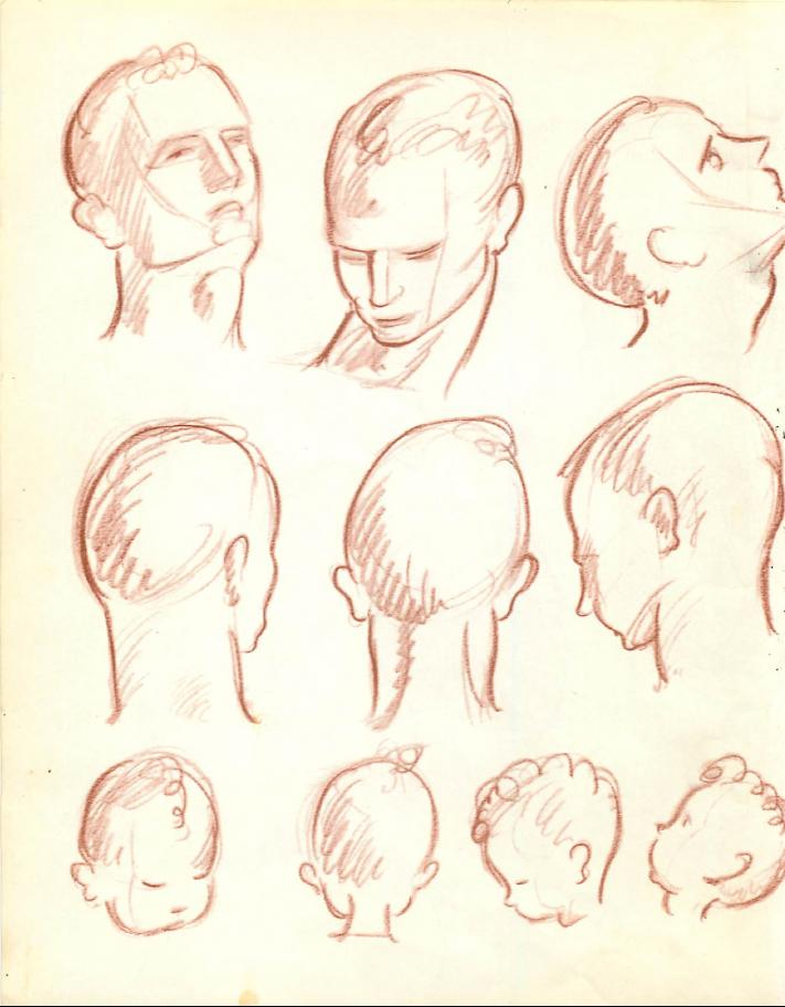 711x912 How To Draw The Human Figure Drawing Body, Head, Facial Features