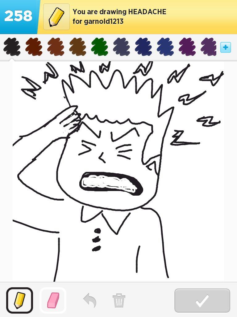 768x1024 Headache Draw Something