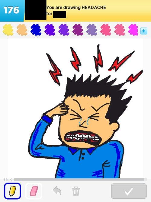 500x667 Headache Drawings