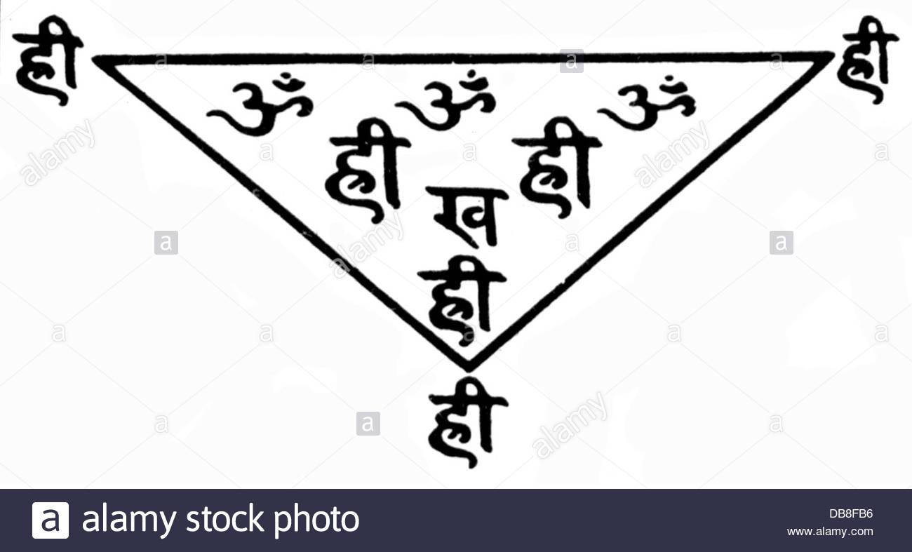 1300x787 Medicine Quacksalver Magic Symbol Against Headache India Drawing