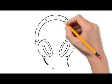 480x360 Headphones And Microphone Things Pencil To Draw Step By Step