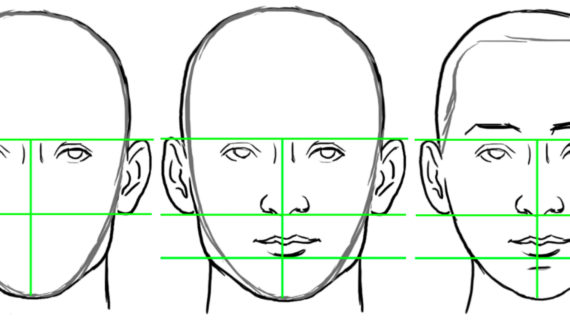 570x320 Drawing A Face Proportions Bring Faces To Life With 10 Tips