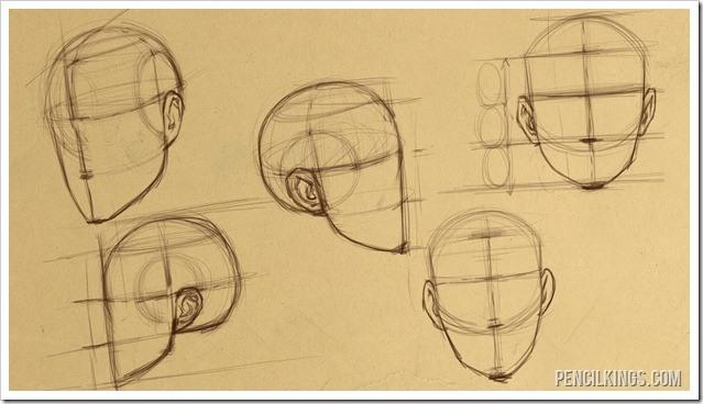 639x368 How To Draw Heads For Perfect Face Proportions