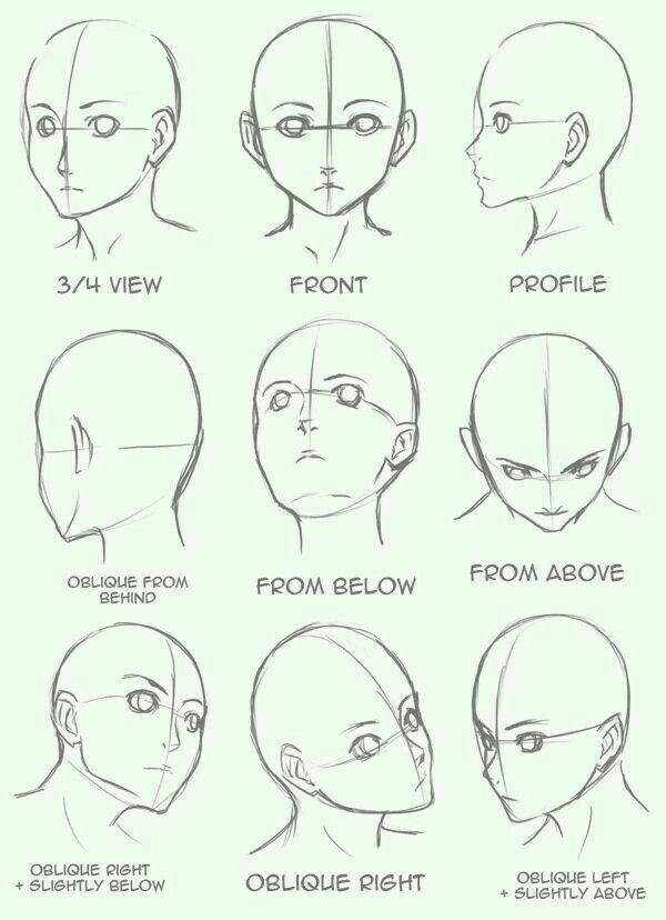 600x828 People Heads. Drawing Drawings, Anime And Digital Art