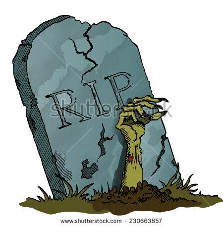 450x458 Cartoon Headstone