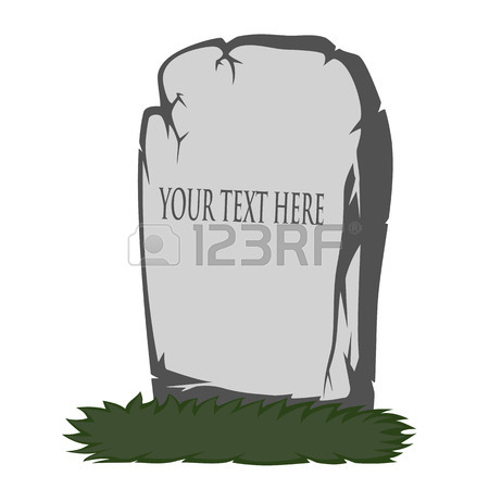 450x450 Grave Rip Icon In Cartoon Style Isolated On White Background