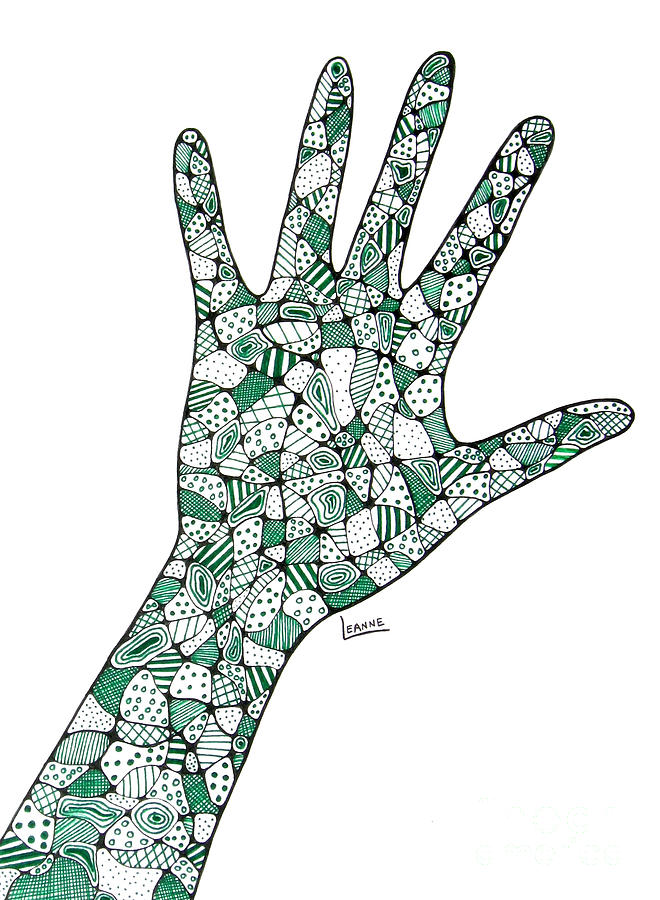 660x900 Healing Hands 2 Drawing By Leanne Karlstrom