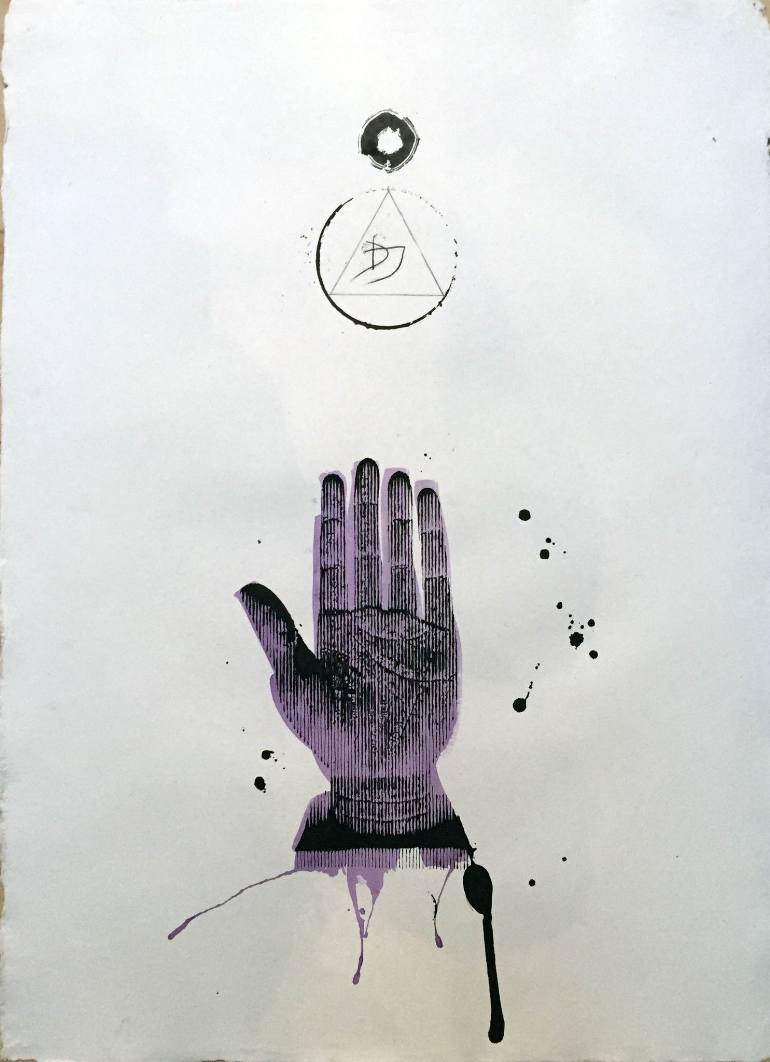770x1062 Saatchi Art Healing Hand Drawing By Dimitri Jelezky