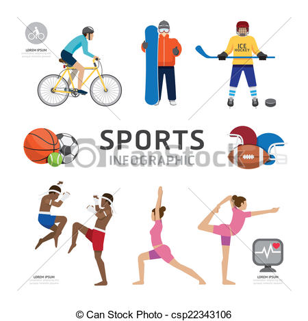 450x470 Infographic Health Sport And Wellness Flat Icons Template