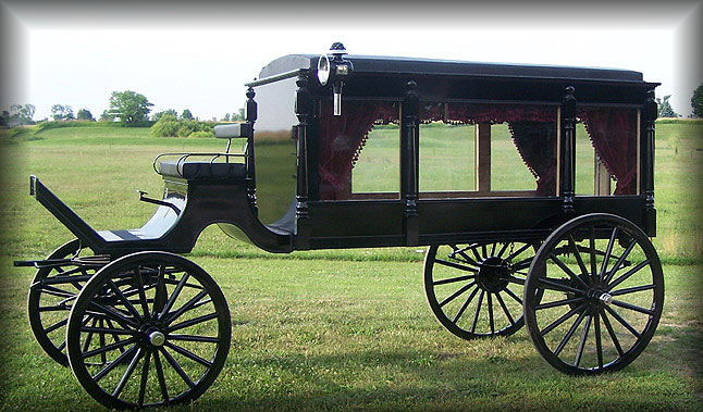 646x379 Several Horse Drawn Hearses Ideas. I Like The Floral Display