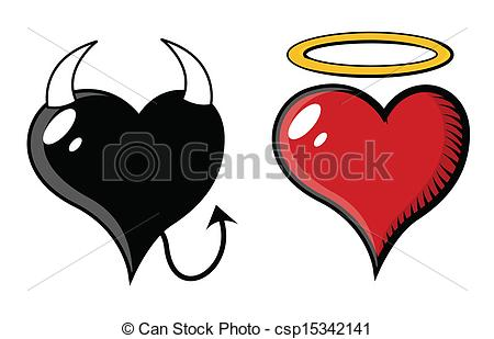 450x309 Good And Evil Heart
