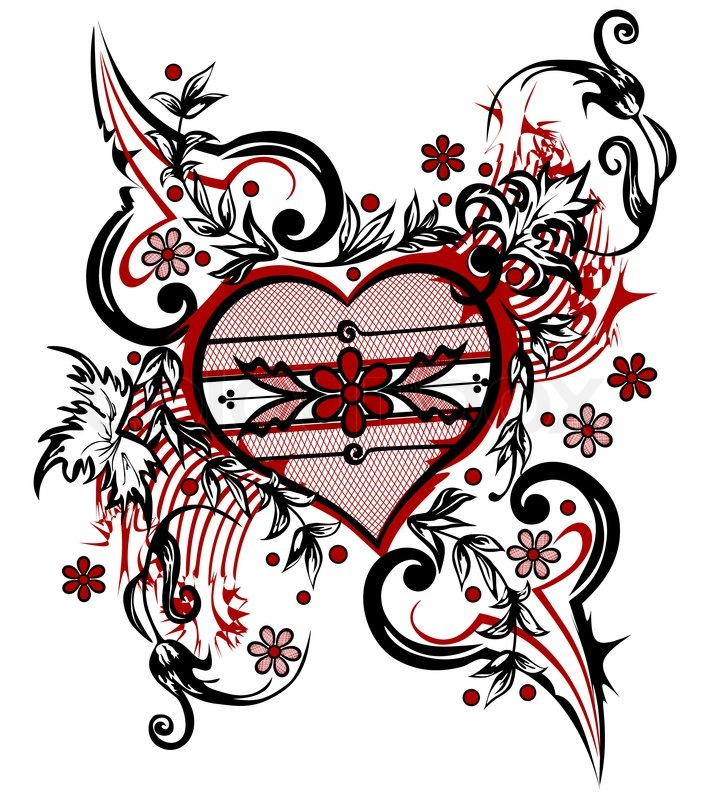 701x800 Abstract Drawing Heart Valentine Background The Valentine's Day T