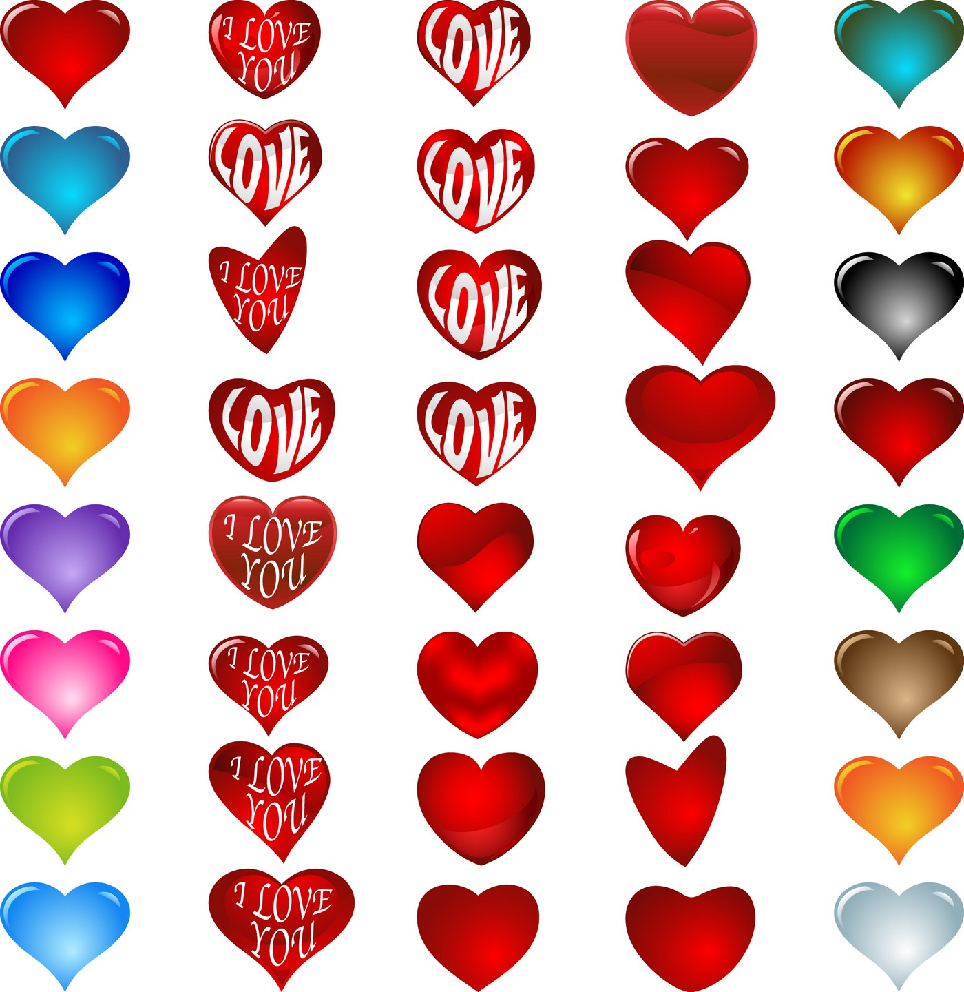 1400x1440 Cute Heart Designs Drawing Heart 09 Vector Eps Free Download, Logo