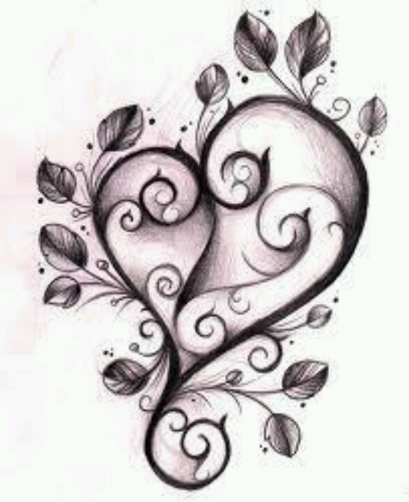 587x720 A Heart Can Be So Cool. Drawings Tattoo And Drawings