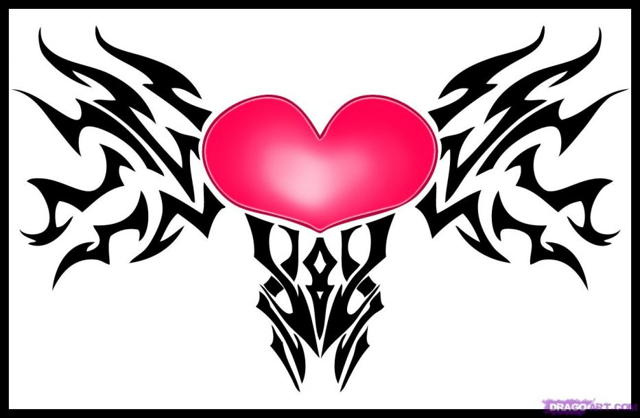 933x609 Cool Heart Designs To Draw Free Download Clip Art Hearts Copy