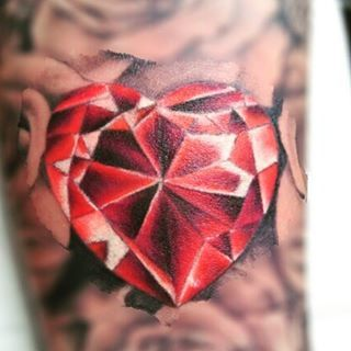 320x320 Diamond Heart Drawing Tattoo 83119 Dfiles If I Ever Get More