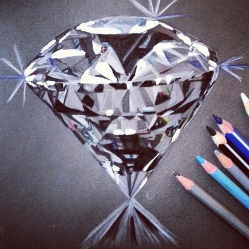 500x500 Diamond~draw~by Me Uploaded By Shining Star