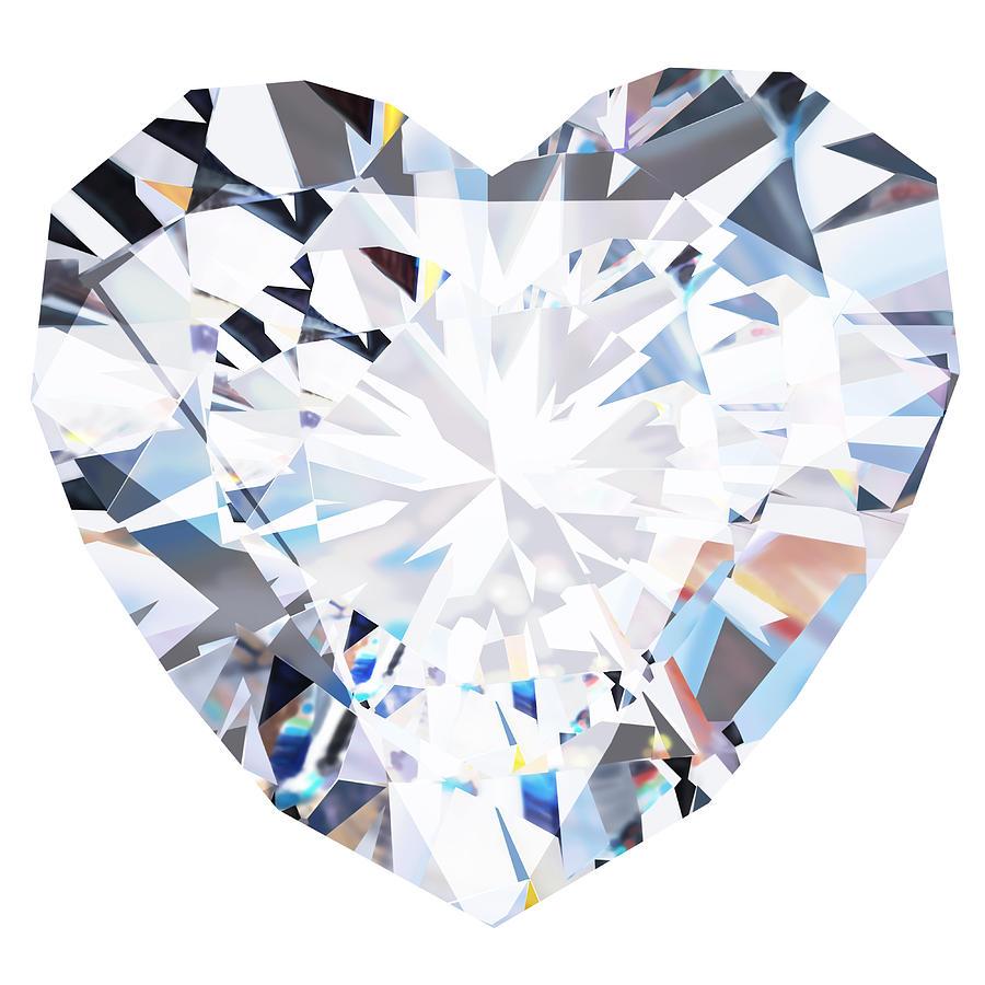 900x900 Heart Diamond By Setsiri Silapasuwanchai