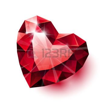 350x350 Heart Tattoos On Heart Tattoos Diamond Tattoos