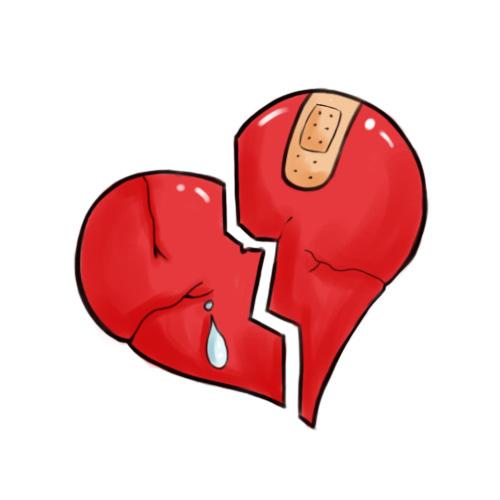 500x500 Draw A Broken Heart Bleeding Hearts, Drawings And Tattoo
