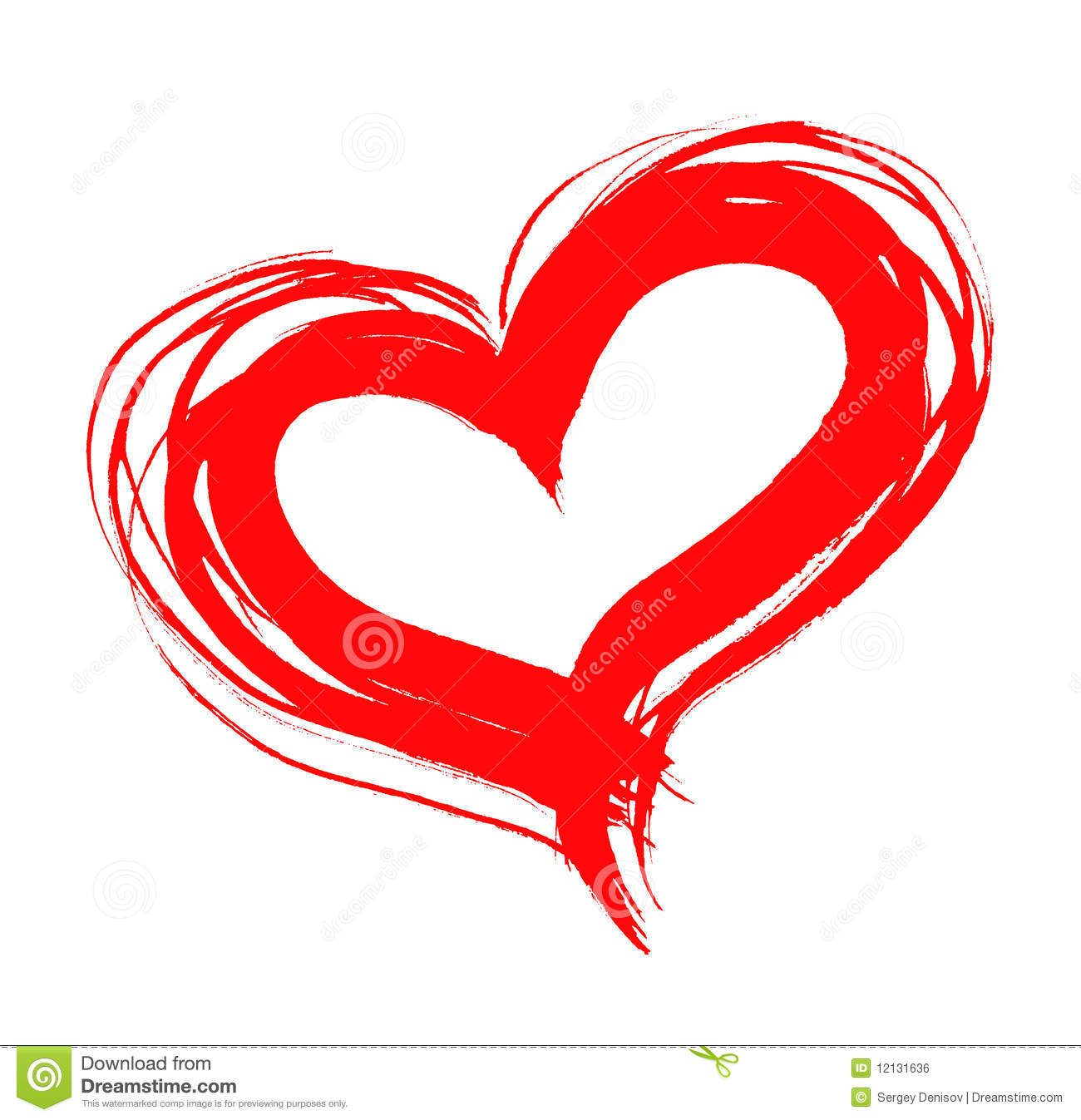 Heart drawing clip art at free for for Free online drawing