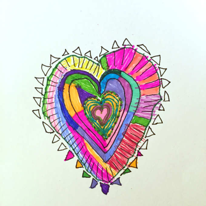 680x680 A Heart Drawing Activity To Celebrate Connection