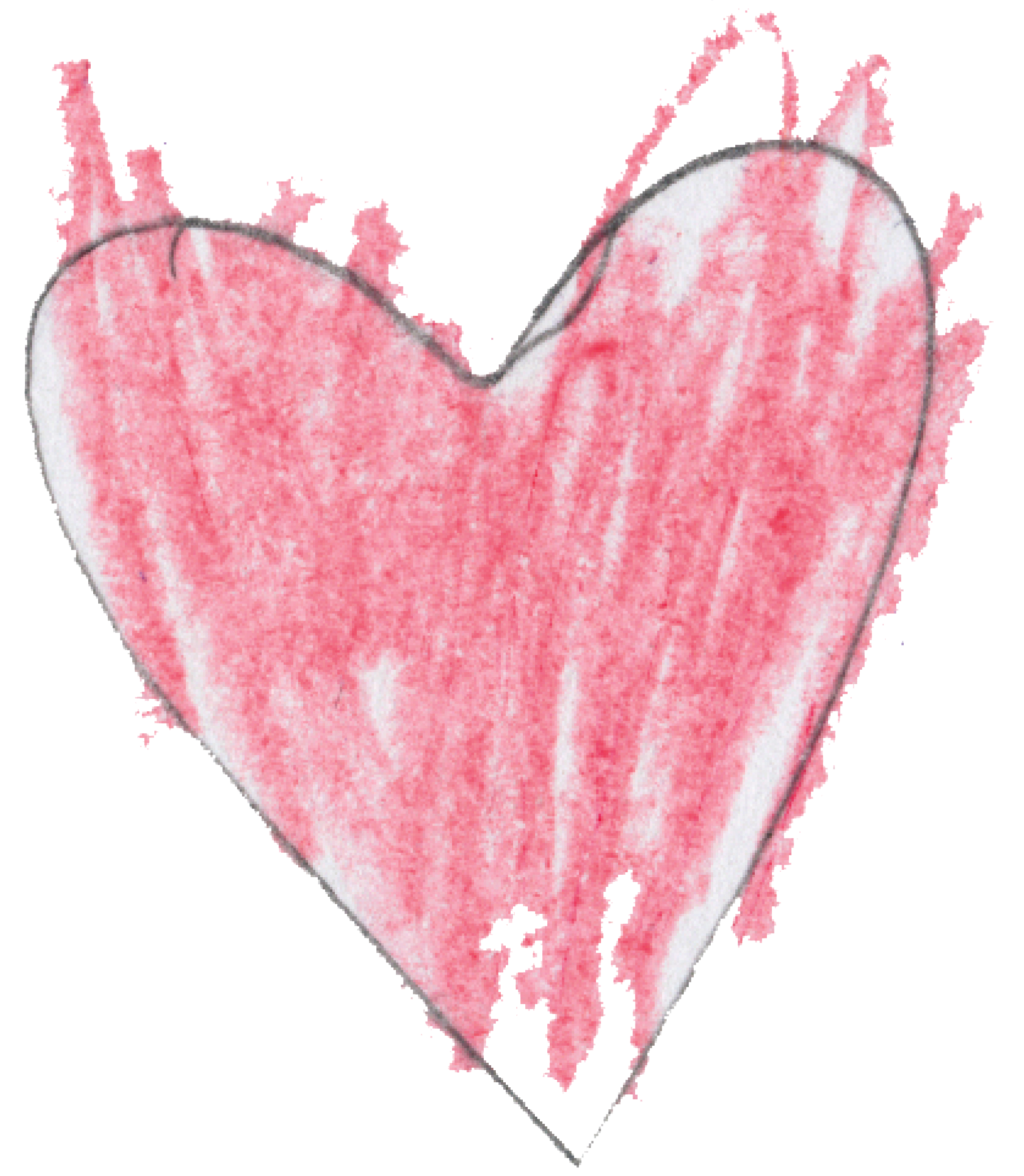 2043x2346 Heart Drawing By Michael D., Age 10, North Bergen, New Jersey