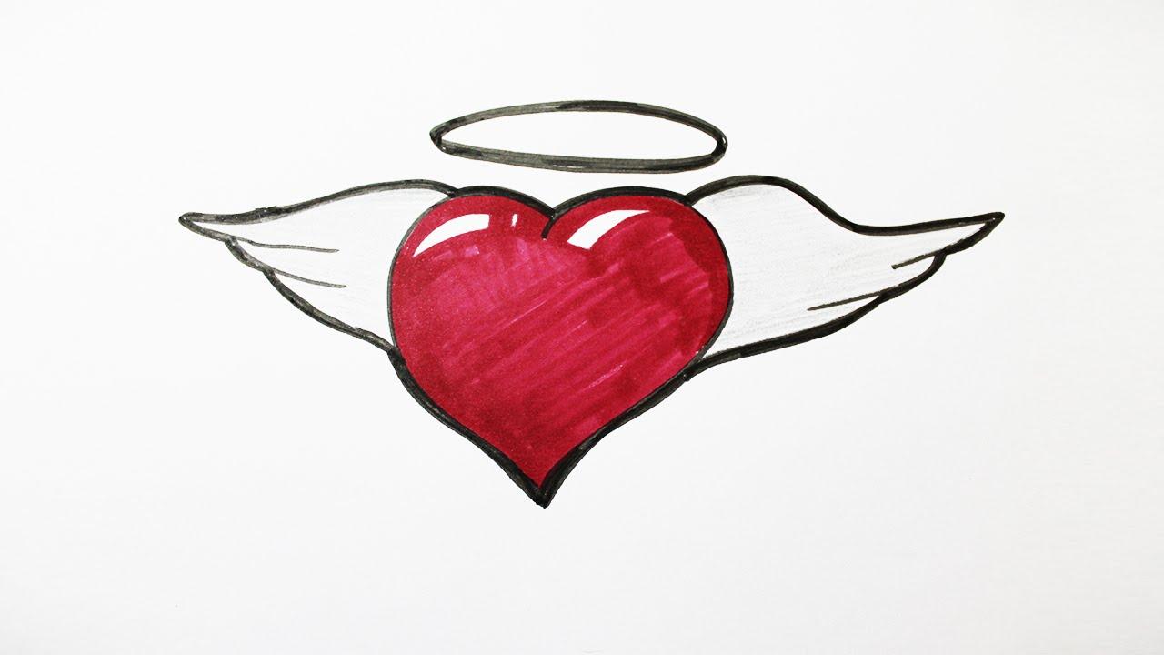 1280x720 How To Draw A Graffiti Heart